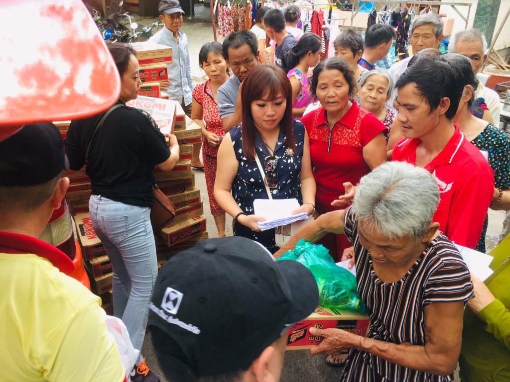 hoạt động từ thiện của Chuyển Phát Nhanh An Phú