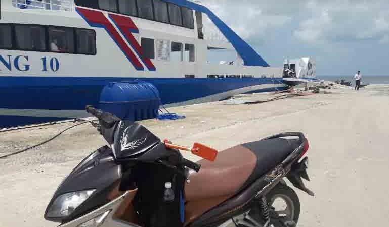 Vận chuyển xe máy ra Phú Quốc là dịch vụ phổ biến